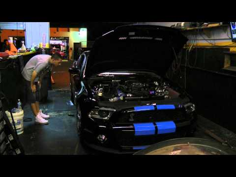 Dyno pull of the Lethal Performance 2010 GT500 on 27psi