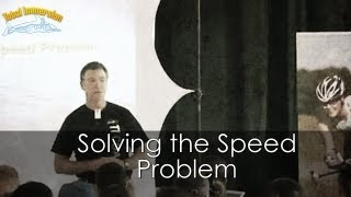 Swimming Faster Presentation Part 1 - Solving the Speed Problem - Part 1