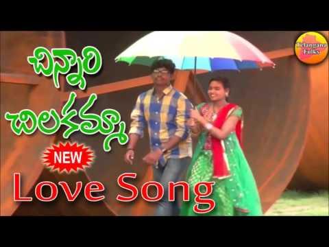 Video songs - Chinnari Chilakamma  New Love Songs  New Telugu Hit Songs  Private Songs Telugu  Folk Songs