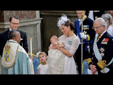 Σουηδία: Με λαμπρότητα η βάπτιση του πρίγκιπα Όσκαρ