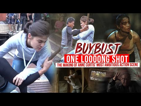 Anne Curtis ' Most Ambitious Action Scene   BUYBUST