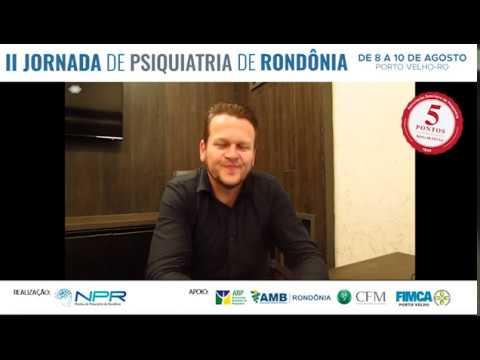 Dr. Felipe Becker – Médico Psiquiatra (Convite para II Jornada de Psiquiatria de Rondônia)