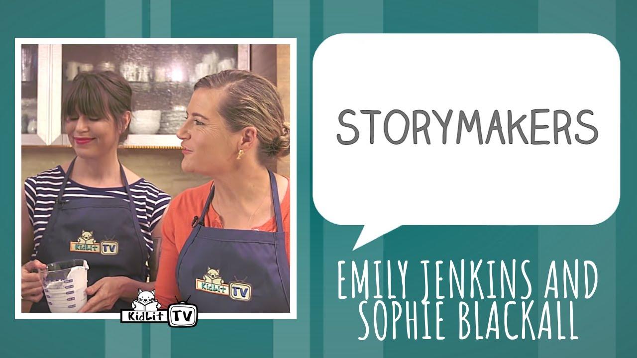 Emily Jenkins & Sophie Blackall create A FINE DESSERT!