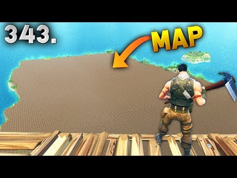 MAP COVERED BY PLATFORMS..?! Fortnite Daily Best Moments Ep.343 Fortnite Battle Royale Funny Moments (видео)