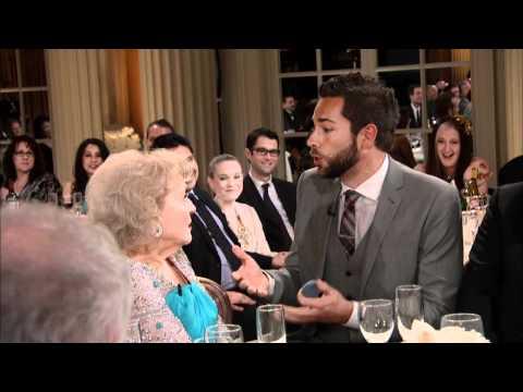 Betty White 90th Birthday Tribute - Clip 4 - Zachary Levi Proposes
