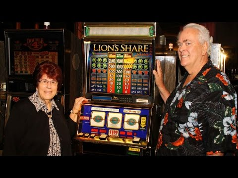 Grandparents win $2.4 million from MGM slot machine