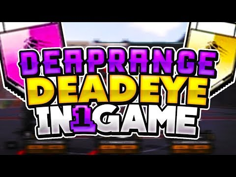 NBA 2K18 DEEP RANGE DEAD-EYE TUTORIAL😈 GET IN 1 GAME😱😱😱