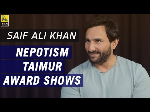 Saif Ali Khan Interview with Anupama Chopra | Chef