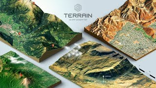 Video How to create a 3D Terrain with Google Maps and height maps in Photoshop - 3D Map Generator Terrain MP3, 3GP, MP4, WEBM, AVI, FLV Februari 2019