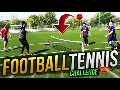 FOOTBALL TENNIS CHALLENGE 2.0 - w/ IlluminatiCrew