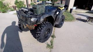 8. 2016 Honda Foreman Rubicon Deluxe Walkaround & Overview