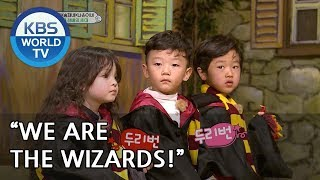 Seungjae, Sian & Naeun go to a Harry Potter gallery! [The Return of Superman/2019.03.10]