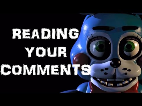 2. - People constantly ask if I'll play Five Nights At Freddy's 2 I thought I'd answer it in READING YOUR COMMENTS Twitter tag for comments: #septiccomments ▻Subs...