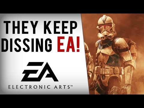 EA Dissed By Sony, CD Projekt, Bethesda, Blizzard & More Following Battlefront 2 Mess... (видео)