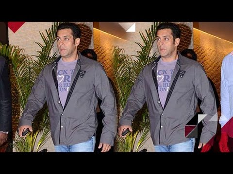 Omg! Salman Khan ATTENDS A Party, Causes HAVOC In Hyderabad
