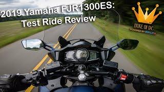 9. 2019 Yamaha FJR 1300 ES Test Ride Review [Budget Sport Touring]