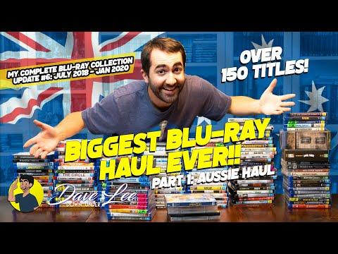 BIGGEST BLU-RAY HAUL EVER! - Blu-Ray, 4K, DVD Collection Update #6: Aussie Haul (2018-2020)