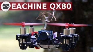 QX80 MINI DRONE FPV , Eachine QX 80 Unboxing Review,  QX80 fpv  Clique ici pour t'abonner ► https://goo.gl/PkIcj8 (merci)-------Voici les liens des produits :-- LE DRONE  : ✔ Drone QX 80 Eachine  :  http://bit.ly/QX80-Eachine_Banggood-- LES HELICES :  ✔ 1 paquet d'Hélices supplémentaire Walkera (4 hélices) : http://bit.ly/helices_55mm_banggood ✔ 10 paquet d'Hélices supplémentaire Eachine (40 hélices): http://bit.ly/Helice_Eachine_40pcs_Banggood-- LES MOTEURS ✔Moteurs supplémentairement en cas de casse : http://bit.ly/moteur_8520_banggood-- LA RADICOMMANDE ✔ Radiocommande FLYSKY fs-i6 2.4G 6ch :  http://bit.ly/FlySky_Fs-i6-Banggood-- ENREGISTREUR / DVR ✔ DVR PRO : http://bit.ly/eachine_ProDvr_Banggood-- BATTERIE Avec CHARGEUR RAPIDE ✔ Eachine 3.7V 600mah 25C Lipo 6 Batteries avec chargeur rapide : http://bit.ly/chargeur_rapide_1s_BanggoodA la différence des CX10 et comme le QX90 Eachine le QX80 n'est pas un jouet, mais une véritable plateforme FPV.Produit chinois relativement pas cher de la marque Eachine le QX80 BNF FlySky comprend  :  ✔ une carte de vol Eachine FLF3 EVO  Brush basée sur une SP RACING F3 EVO avec module FlySky de réception intégré. ✔ un combo FPV / Caméra compact ✔ 1 x câble parallèle pour la charge (livré sans chargeur)  ✔ 8 x hélices (2 CW, 2 CCW)  ✔ 4 x moteurs 8520 (2 CW, 2 CCW)  ✔ 2 x batterie 1S 3.7V 600mAh LiPo avec connecteur microLOSI ✔ 1 x châssis carboneCAMERA FPV identique à celle du QX90 : Le QX80 est livré avec une caméra de 25mW sans boîtier et avec une antenne Pinwheel  (4 feuilles).L'antenne est directement soudée sur le circuit imprimé de la caméra. Il n'y a pas de protection de la caméra et de l'antenne. La caméra est une 520TVL Cmos au format NTSC. L'appareil est livré avec une lentille M7 montée avec un très grand FOV (environ 170 degrés).Les BATTERIES  LiPo FOURNI avec le QX80 : 600mAh 1S 25c LiPo. Elle se termine avec un connecteur microLOSI.Configuration du QX80 :Faire le bind (https://www.youtube.com/watch?v=lSNTvFaNlBg)  ✔ 