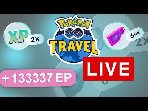 Pokémon GO Travel - EP-Event eskaliert, Lockmodule überall - Pokémon GO Live