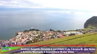 António Salgado Almeida é candidato à da Câmara M. das Velas e António Machado à Assembleia M.das Ve