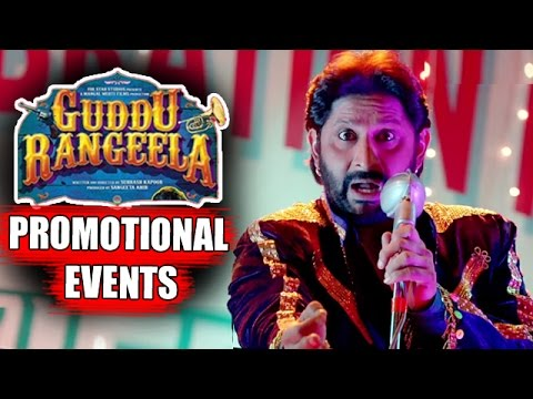 Guddu Rangeela (2015) Movie Promotional Events | Arshad Warsi, Aditi Rao Hydari, Amit Sadh