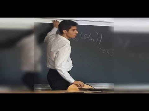 عمر السيد.. أصغر مصري حاصل على الدكتوراة في الرياضيات