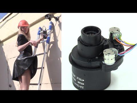 AHD камеры CTV с моторизованными объективами
