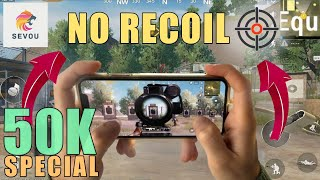 How To Control Recoil (Handcam) | 50k Special | 23 KILLS | PUBG Mobile