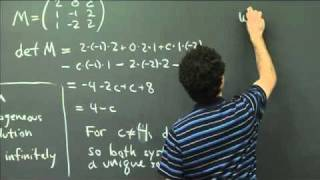 Systems Of Linear Equations | MIT 18.02SC Multivariable Calculus, Fall 2010
