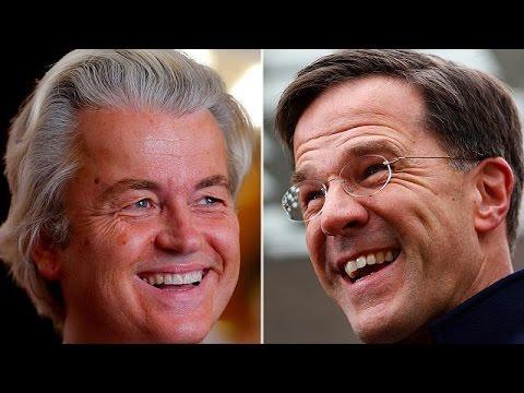 Ολλανδία: Μικρό προβάδισμα του Μαρκ Ρούτε στις δημοσκοπήσεις