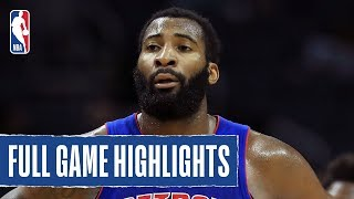 PISTONS at HORNETS | Andre Drummond goes for 17 PTS & 15 REB!  | 2019 NBA Preseason by NBA