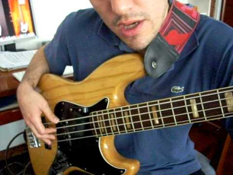 Clases de Bajo - Escala Mayor / Bass Lessons - Major Scale