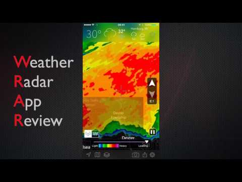 Weather Radar App Review