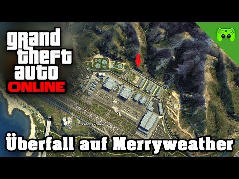 GTA ONLINE # 73 - Überfall auf Merryweather «» Let's Play Grand Theft Auto Online | 60HD