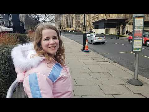 ABDL Exploring London! Cold day out in Privatina Snowsuit
