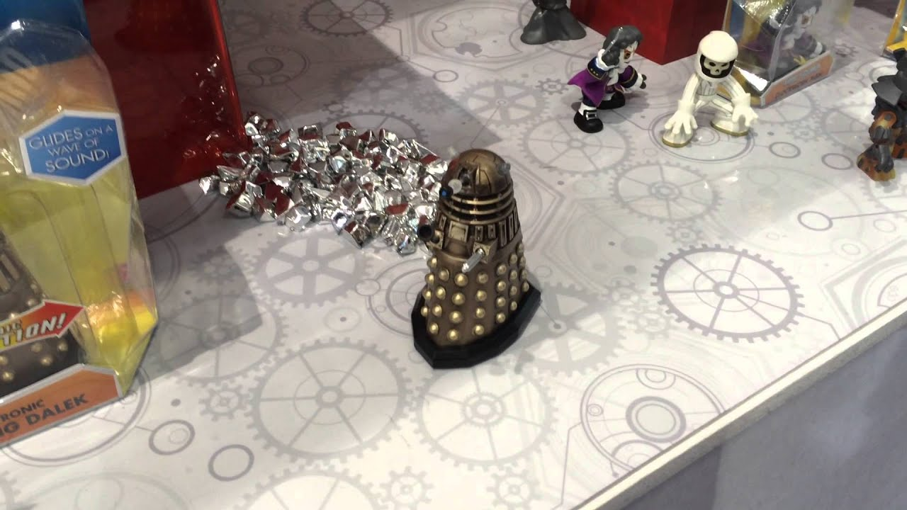 New Doctor Who Merchandise Revealed At The Toy Fair 2015!
