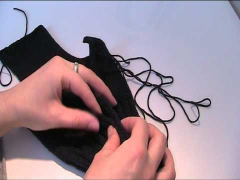 Skimütze für Kinder stricken Teil 3 Video