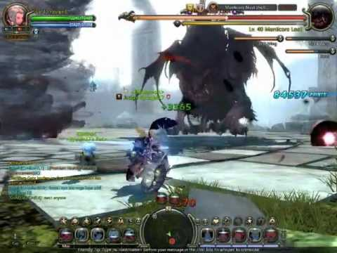 Dragon Nest SEA Level 40  Mercenary Solo Manticore's Nest Hell Mode