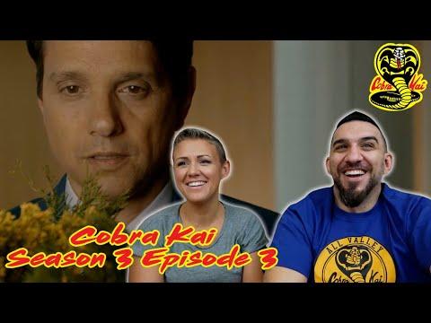Cobra Kai Season 3 Episode 3 'Now You're Gonna Pay' REACTION!!