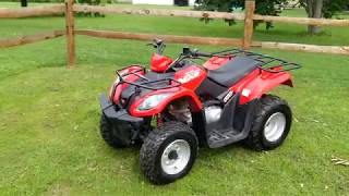 6. Kymco MXU 150 mongoose walk through