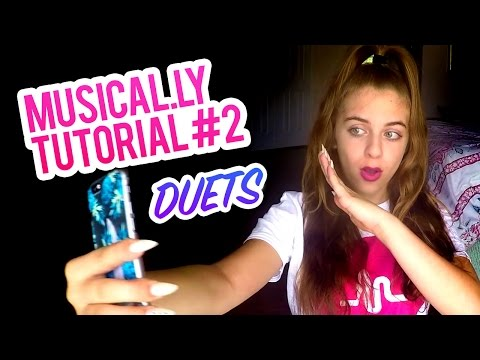 Musical.ly Tutorial Part #2 Making Duets! :)   Baby Ariel