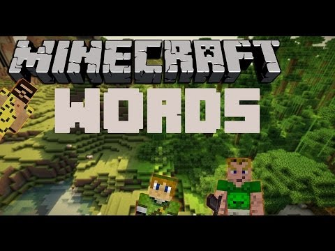 MINECRAFT Adventure Map # 1 - Minecraft Words «» Let's Play Minecraft Together | HD