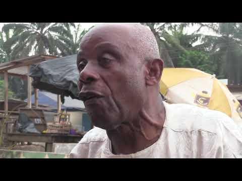 COTE D'IVOIRE: DABOU - INTERVIEW  3 - DE M. LATH YEDO THEOPHILE, SUR LES PROBLÈMES DE ''LAIO''
