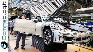 Video CAR FACTORY: Porsche 911 HOW IT'S MADE Production Plant 2017 MP3, 3GP, MP4, WEBM, AVI, FLV November 2018