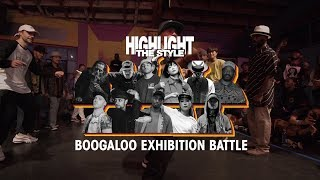 Boogaloo – HIGHLIGHT THE STYLE Exhibition Battle