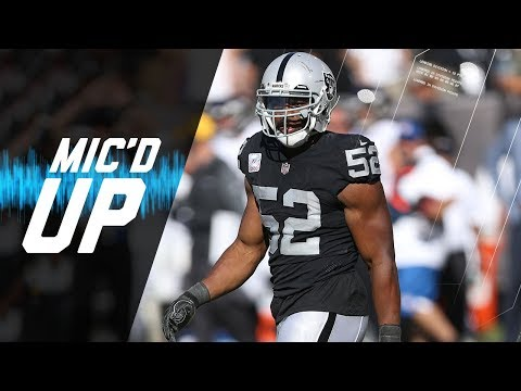 Video: Khalil Mack Mic'd Up vs. Ravens