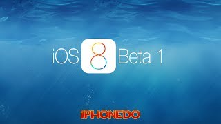 iOS 8 Beta 1 incelemesi