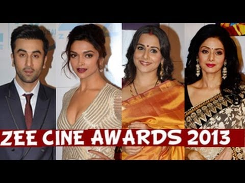 Zee Cine Awards 2013 Red Carpet
