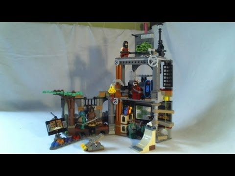 Lego 79103 Neuf En Boite Tortue Ninja Lair Attack Le Repaire Des Tortues Ninja