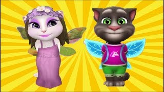 My Talking Tom and Talking Angela Fairy outfits